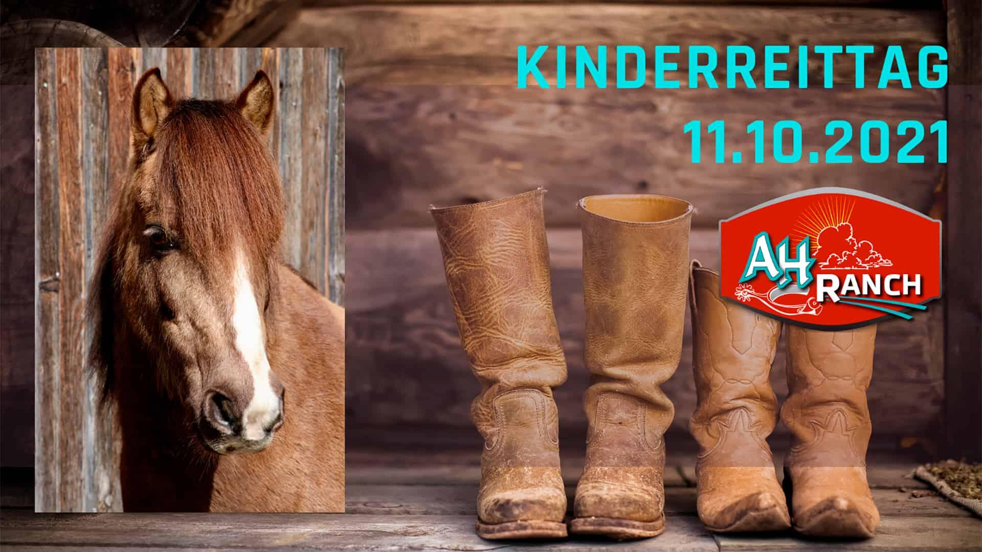 AH Ranch - Westernreiten Schweiz - Kinderreittag 11.-13.10.2021