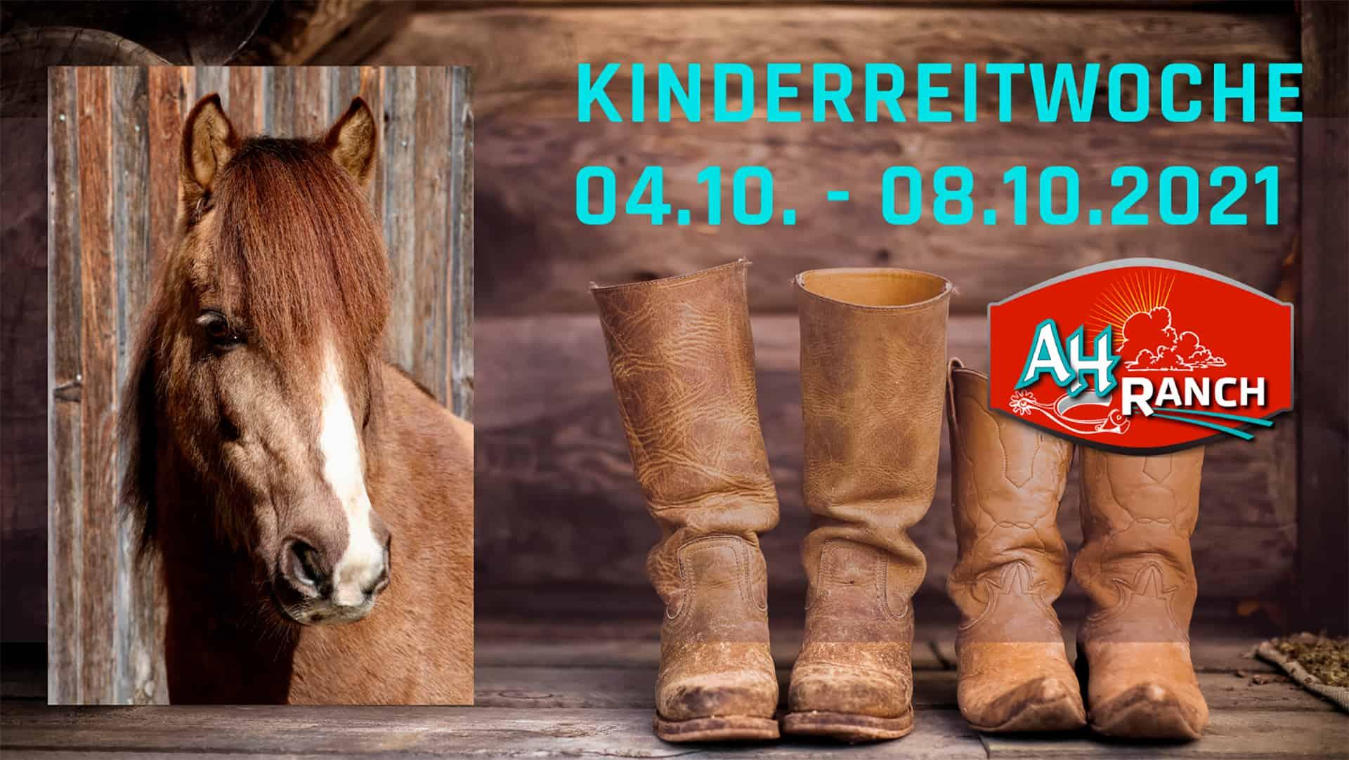 AH Ranch - Westernreiten Schweiz - Kinderwoche 04.-08.10.2021